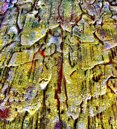 Inspired by Nature: Bark (Acryl on Canvas)