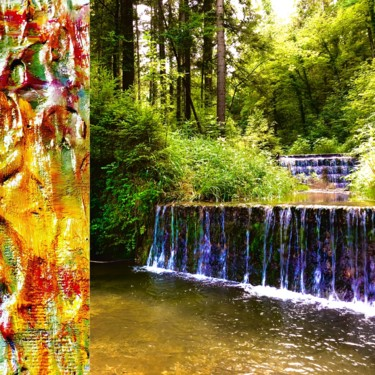 Art inspired by Nature: Bad Feilnbach Cascades