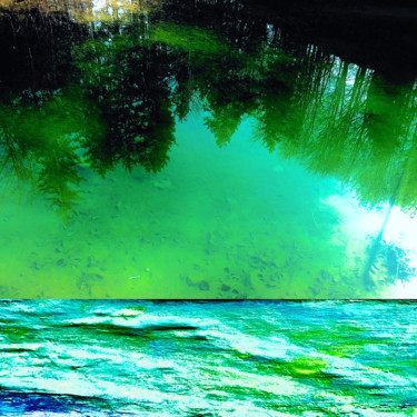 Art inspired by Nature: Mountain Lake
