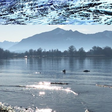 Art inspired by Nature: Chiemsee
