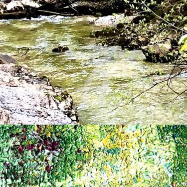 Art inspired by Nature - Mountain Trail (Jenbach)